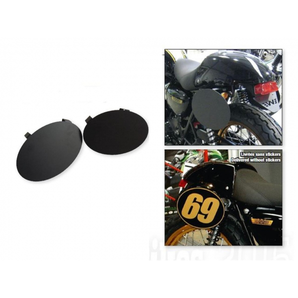 plaques num ro lat rales bihr triumph bonneville thruxton bihr accessoires moto plaque. Black Bedroom Furniture Sets. Home Design Ideas