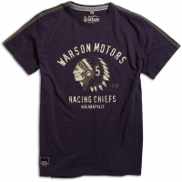 Tee-shirt Warson Motors Racing Chiefs Blue