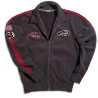 Hoodies Warson Motors Track Carbone/rouge