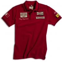 Polo Warson Motors Clay Regazzoni Rouge
