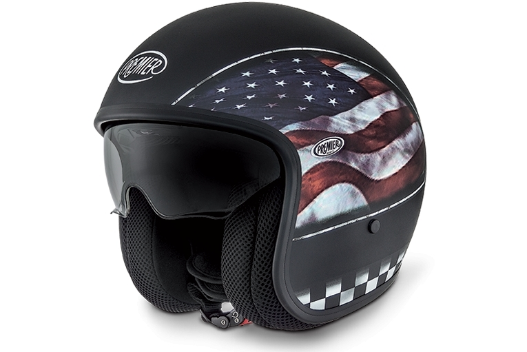 casque premier jet vintage flag usa 9 bm premier casques jet. Black Bedroom Furniture Sets. Home Design Ideas