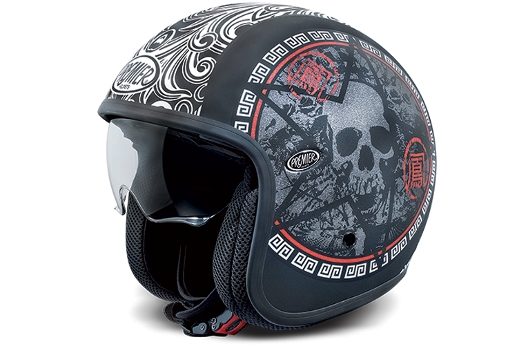 casque premier jet vintage sk9 bm skull premier casques jet. Black Bedroom Furniture Sets. Home Design Ideas