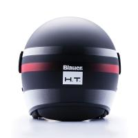 Casque Jet Blauer Pod Noir /Blanc / Rouge Mat