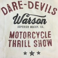 Gilet / Hoodies Warson Motors Track Jacket Dare Devils