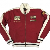 Gilet / Hoodies Warson Motors Regazzoni Track Jacket Red Men