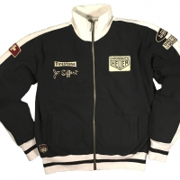Gilet / Hoodies Warson Motors Jo Siffert Track Jacket Black