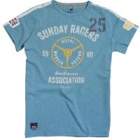 Tee-shirt Warson Motors Sunday Racer Turquoise