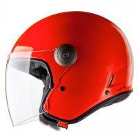 Casque Jet Cast Classic ARF Orange Fluo Casthelmets