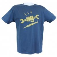 Tee-shirt Oily Rag Spanner Bleu