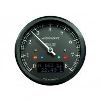 Compte Tour Motogadget Motoscope Tacho Chronoclassic Dark 10000  trs/min