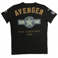 Tee-shirt Warson Motors Avenger Carbone