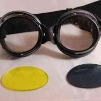 Lunettes cuir Aviator Goggle Biker
