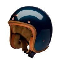 Casque Jet Hedon Shortlist Bleu Pétrol Brillant