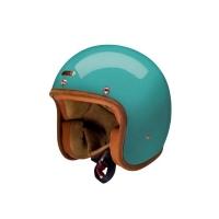 Casque Jet Hedon Tide Turquoise Brillant