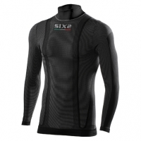 Tee-shirt Carbon SIXS Manches Longues Avec Col TS3