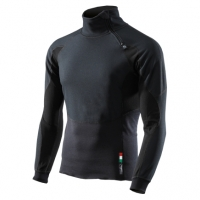 Pull Avec Zip SIXS Winter Tourism Wind Stopper