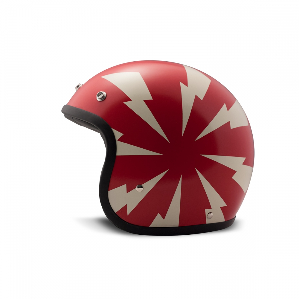 Casque Jet Dmd Bang Rouge Dmd Casques Jet