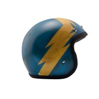 Casque Jet DMD Thor Bleu
