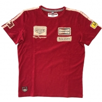 Tee-shirt Warson Motors Clay Regazzoni Rouge