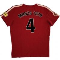 Tee-shirt Warson Motors Clay Regazzoni Rouge