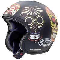 Casque Jet Arai Freeway Classic Skull