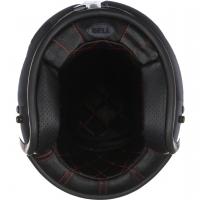 Casque Jet Bell Custom 500 DLX Solid Black Brillant
