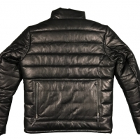 Blouson Doudoune Warson Motors Cuir Down Jacket Sheep