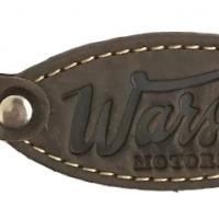 Porte-Clefs Cuir Warson Motors Marron