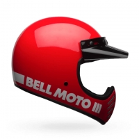 Casque BELL Moto-3 Classic Rouge