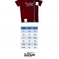 Tee-shirt Warson Motors Get Kick 66 Rouge