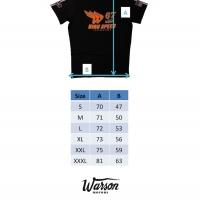 Tee-shirt Warson Motors High Speed 67 Carbone