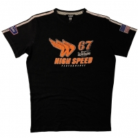 Tee-shirt Warson Motors High Speed 67 Carbone