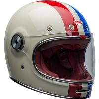 Casque BELL Bullitt DLX Command Gloss Vintage White/Red/Blue