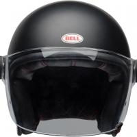 Casque Jet Bell Riot Solid Noir Mat