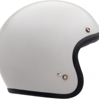 Casque Jet Bell Custom 500 Solid Blanc