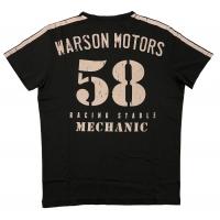 Tee-shirt Warson Motors Team 58 Carbone