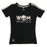 Tee-shirt Enfant Warson Motors Motorcycle Noir