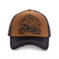 Casquette Trucker VON DUTCH Homme Marron