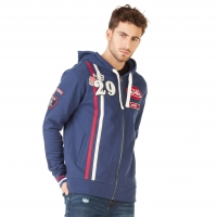 Sweat zippé homme Hoodie Von Dutch Olym