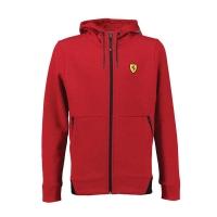 Hoodie Scuderia Ferrari Collar Rouge