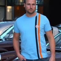 Tee-shirt Gulf Stripe Cobalt