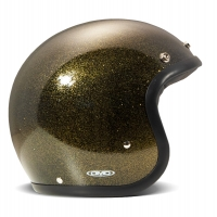 Casque Jet DMD Glitter Bronze