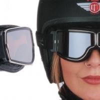 Lunette Aviator Goggle 4182 T Cerclage Gun verre Miroir