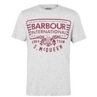 Tee-shirt Barbour Steve Mcqueen Eagle Gris