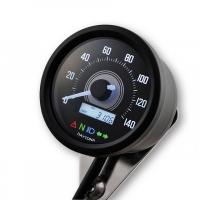 Compte Tour Daytona Velona 2 D60 140 km/h + Indicateur Noir