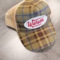 Casquette Warson Motors Flanel Check Vert