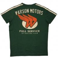 Tee-shirt Warson Motors Engine Vert
