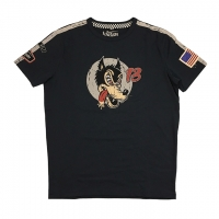 Tee-shirt Warson Motors Speed Wolf Carbone