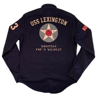Chemise Warson Motors Homme Lexington Marine
