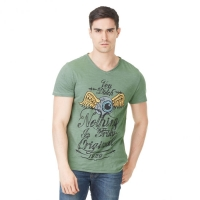 Tee-shirt Homme Von Dutch Eyes Vert
